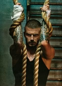 David Beckham Arm Tattoos