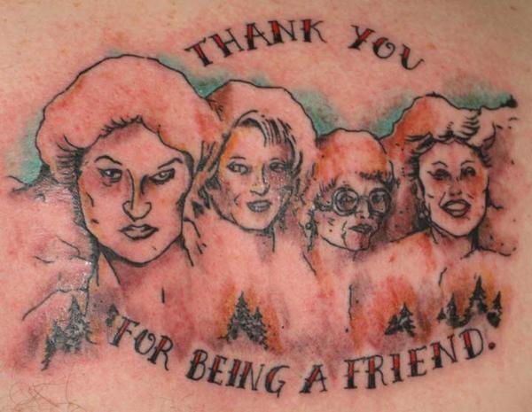 Golden Girl Tattoo