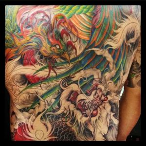Back Piece by Master Mike