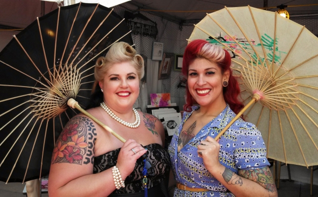 Lovely Ladies at Ink N Iron