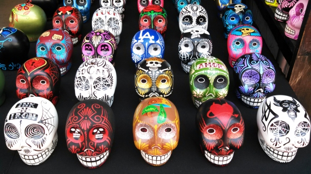 Day of The Dead Skulls at Ink N Iron