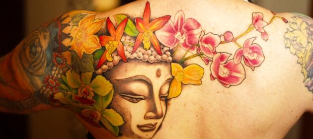 Buddha Back Tattoo