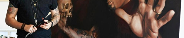 Jimi May Tattoo Artist Banner